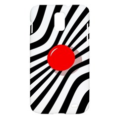 Abstract red ball Samsung Galaxy S II Skyrocket Hardshell Case