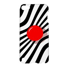 Abstract red ball Apple iPod Touch 5 Hardshell Case