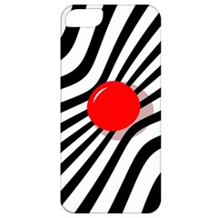 Abstract red ball Apple iPhone 5 Classic Hardshell Case