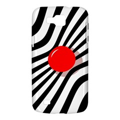 Abstract red ball Samsung Galaxy Premier I9260 Hardshell Case