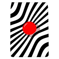 Abstract red ball Flap Covers (S)