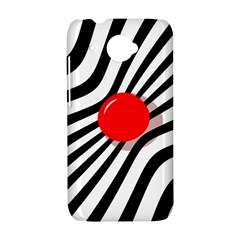 Abstract red ball HTC Desire 601 Hardshell Case