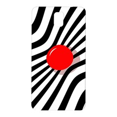 Abstract red ball Samsung Galaxy Note 3 N9005 Hardshell Back Case