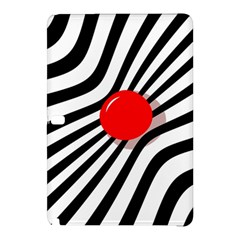 Abstract red ball Samsung Galaxy Tab Pro 10.1 Hardshell Case