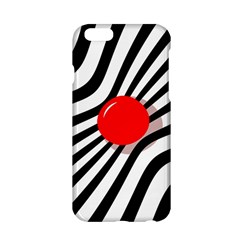 Abstract red ball Apple iPhone 6/6S Hardshell Case