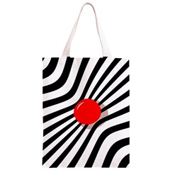 Abstract red ball Classic Light Tote Bag