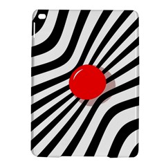 Abstract red ball iPad Air 2 Hardshell Cases
