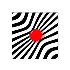 Abstract red ball Satin Bandana Scarf