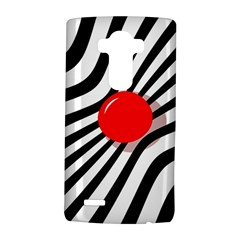 Abstract red ball LG G4 Hardshell Case
