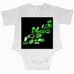 Green decorative abstraction Infant Creepers