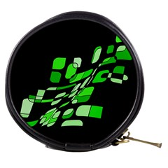 Green decorative abstraction Mini Makeup Bags