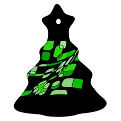 Green decorative abstraction Ornament (Christmas Tree)