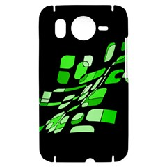 Green decorative abstraction HTC Desire HD Hardshell Case
