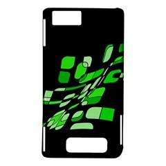 Green decorative abstraction Motorola DROID X2