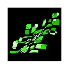 Green decorative abstraction Acrylic Tangram Puzzle (6  x 6 )