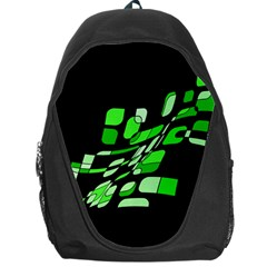 Green decorative abstraction Backpack Bag