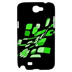 Green decorative abstraction Samsung Galaxy Note 2 Hardshell Case