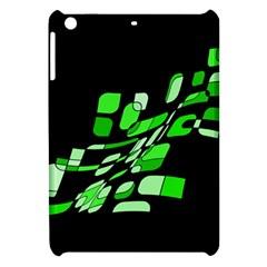 Green decorative abstraction Apple iPad Mini Hardshell Case