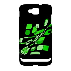 Green decorative abstraction Samsung Ativ S i8750 Hardshell Case