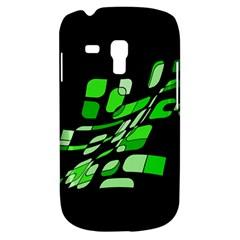 Green decorative abstraction Samsung Galaxy S3 MINI I8190 Hardshell Case