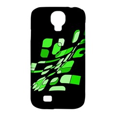 Green decorative abstraction Samsung Galaxy S4 Classic Hardshell Case (PC+Silicone)