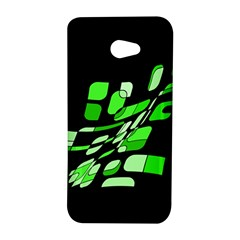 Green decorative abstraction HTC Butterfly S/HTC 9060 Hardshell Case