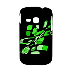 Green decorative abstraction Samsung Galaxy S6310 Hardshell Case