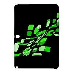 Green decorative abstraction Samsung Galaxy Tab Pro 12.2 Hardshell Case