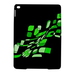 Green decorative abstraction iPad Air 2 Hardshell Cases