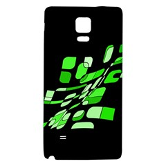 Green decorative abstraction Galaxy Note 4 Back Case