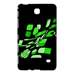 Green decorative abstraction Samsung Galaxy Tab 4 (7 ) Hardshell Case