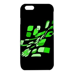 Green decorative abstraction iPhone 6/6S TPU Case