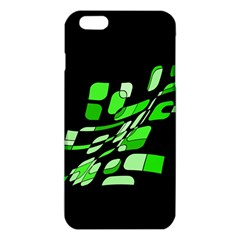 Green decorative abstraction iPhone 6 Plus/6S Plus TPU Case
