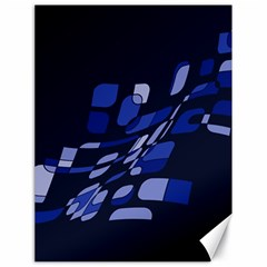 Blue abstraction Canvas 18  x 24