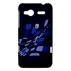 Blue abstraction HTC Radar Hardshell Case