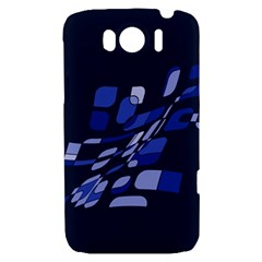 Blue abstraction HTC Sensation XL Hardshell Case
