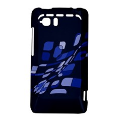 Blue abstraction HTC Vivid / Raider 4G Hardshell Case