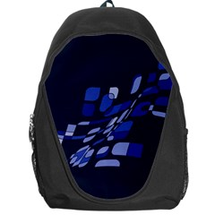 Blue abstraction Backpack Bag