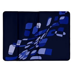 Blue abstraction Kindle Fire (1st Gen) Flip Case