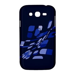 Blue abstraction Samsung Galaxy Grand DUOS I9082 Hardshell Case