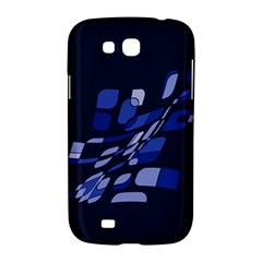 Blue abstraction Samsung Galaxy Grand GT-I9128 Hardshell Case