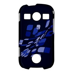 Blue abstraction Samsung Galaxy S7710 Xcover 2 Hardshell Case