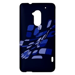 Blue abstraction HTC One Max (T6) Hardshell Case