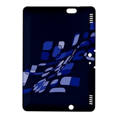 Blue abstraction Kindle Fire HDX 8.9  Hardshell Case