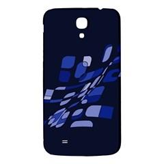 Blue abstraction Samsung Galaxy Mega I9200 Hardshell Back Case