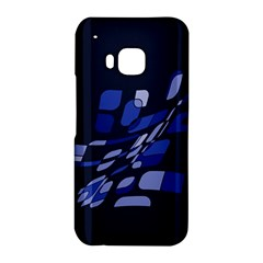 Blue abstraction HTC One M9 Hardshell Case