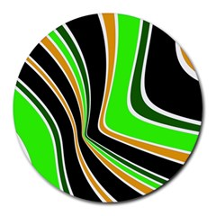 Colors of 70 s Round Mousepads