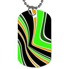 Colors of 70 s Dog Tag (One Side)