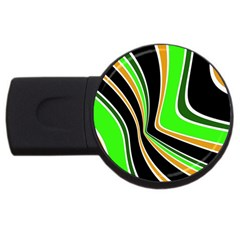 Colors of 70 s USB Flash Drive Round (2 GB)
