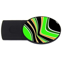 Colors of 70 s USB Flash Drive Oval (2 GB)